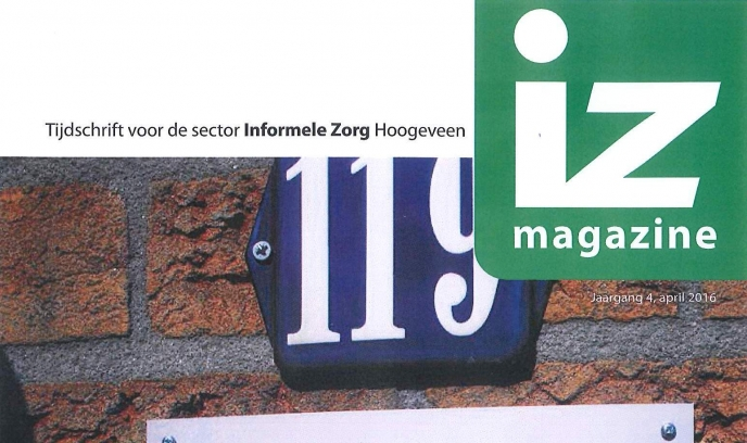 IZ magazine april is uit