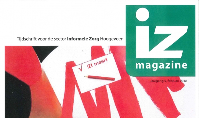IZ Magazine februari is verschenen