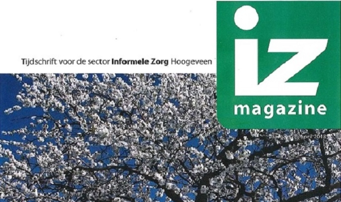 IZ magazine april is verschenen