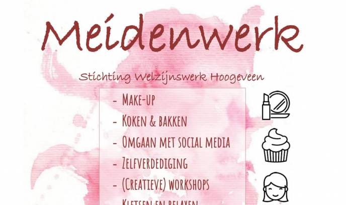 """Meidenwerk start op 5 april"""